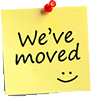 We have moved...